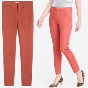 J. Crew Factory Pink High Rise Skinny Cargo Pants